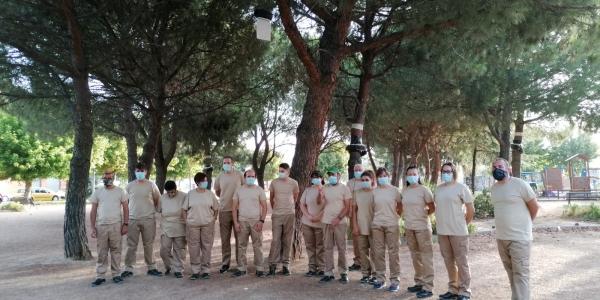 Los alumnos de Crisol Formación ya visten uniformados