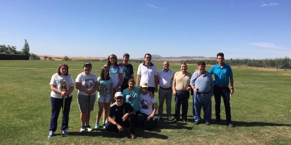 Clausuramos el curso en la Escuela de Golf Adaptado