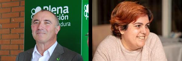 Pedro Calderón y Maribel Cáceres, nombrados vicepresidentes de Plena inclusión España