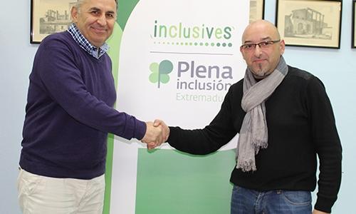 Inclusives y La Zarza firman un acuerdo para impulsar el empleo de personas con discapacidad